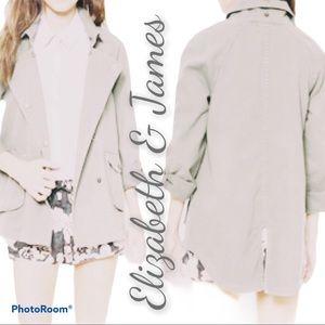 Elizabeth & James L Kelsey coat jacket trench